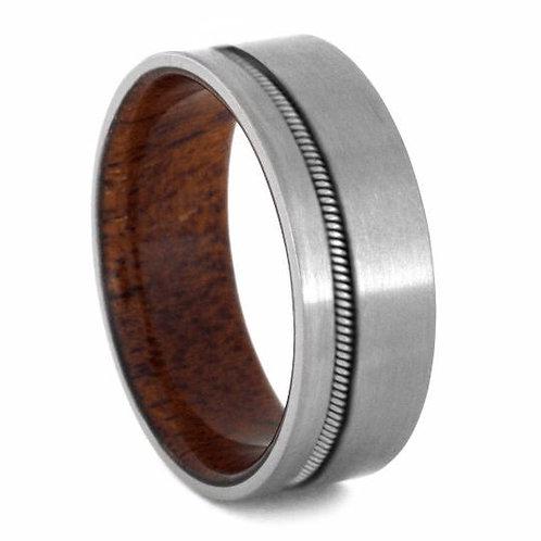 Titanium Wood sleeve band