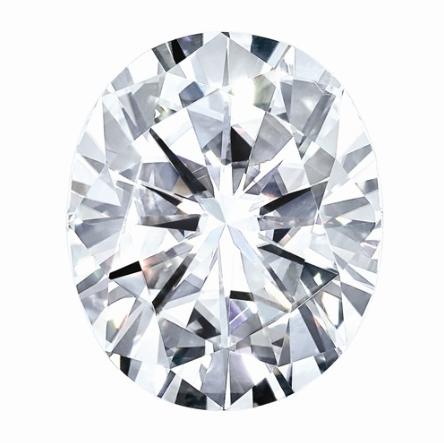 0.23 CARATS, MOISSANITE, Pure Light, E, F Color, 5X3MM OVAL