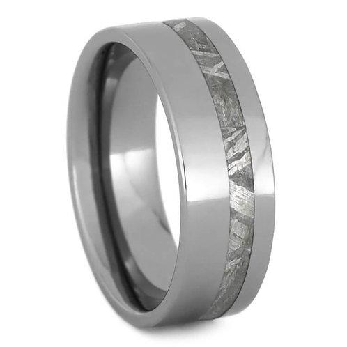 Meteorite Tungsten Ring