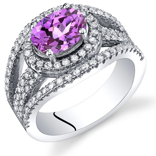 14kt Color Stone Fashion Ring