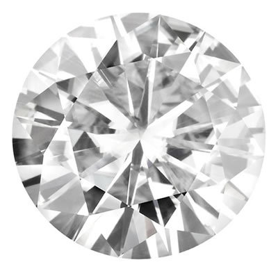 6.0mm = .75ct VVS1 Round Colorless Certified NEO Moissanite
