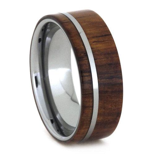 Tungsten Wood Ring