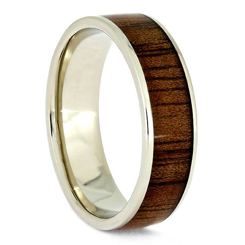 14kt Gold Wood Ring