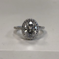 An oval stunner! We are elated with how