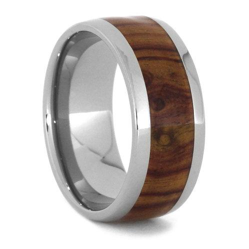 Wood Titanium band