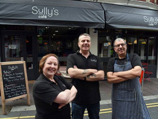 Sharon and Reno have been serving people at Sully's for a total of 78 years