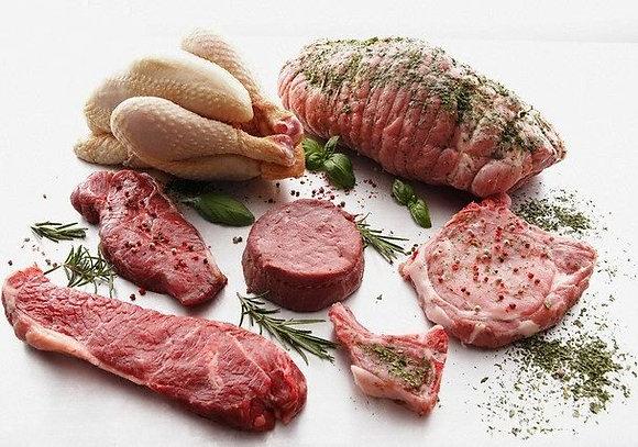 Маринованное мясо свиные ребра 100гр