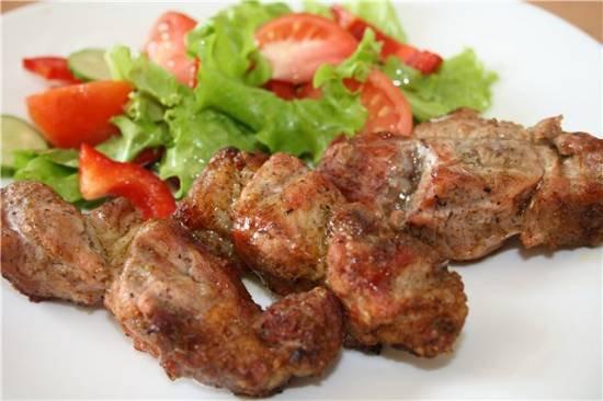 Шашлык из свиной шейки (Ошеек) 100гр