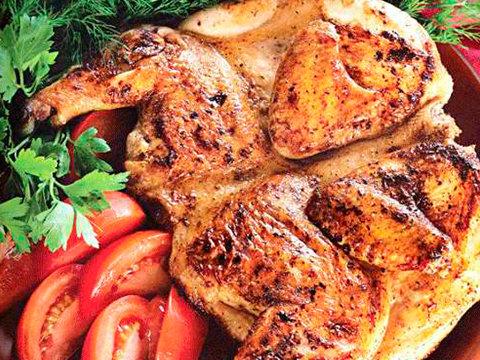 Цыплёнок на мангале 100гр