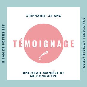 🎤TEMOIGNAGE DE Stéphanie, 34 ans, assistante sociale🎤