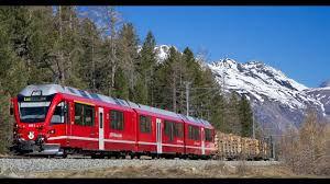 VIDEO: Breathtaking Swiss railroad adventure