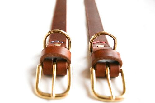 Lederhalsband