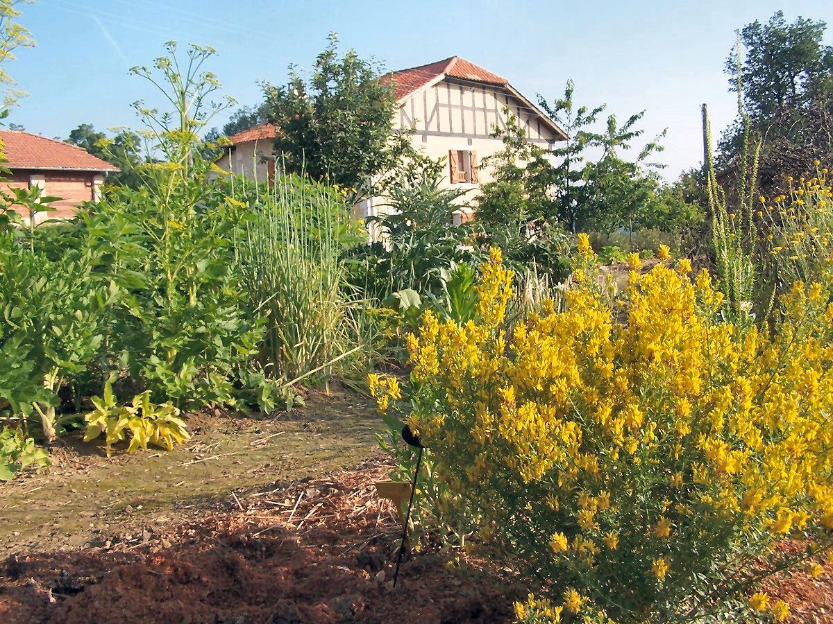 la jardin des senteurs embaume