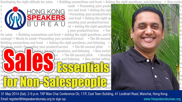 Sales Essentials for Non-Salespeople 20140531