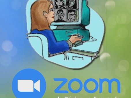 Novas turmas de Zoom - do básico ao avançado