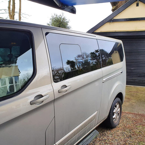 SIde Window Replacement Ford Transit   Plymouth