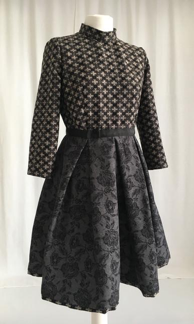 Pattern Blocking Kleid | Soreich