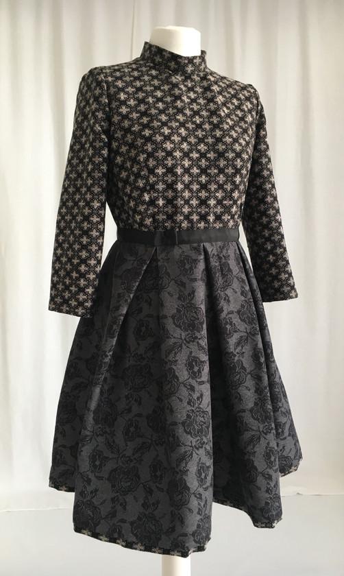 Pattern Blocking Kleid   Soreich