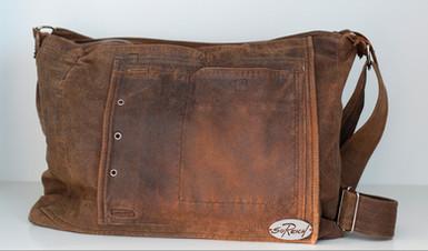 Tasche aus alter Lederjacke | Soreich