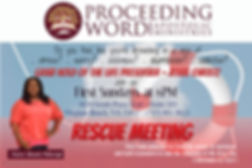 PWAMVA  Rescue Meeting Info