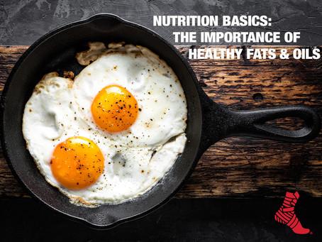 Conceptos básicos de nutrición: la importancia de las grasas y aceites saludables