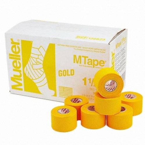Cinta M Tape Amarilla Caja C/32 Rollos 3.8 cm x 9.1 m