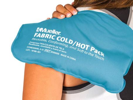 Cuándo es mejor aplicar frío o calor para tratar los dolores musculares.