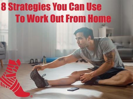 Quédate en casa y aquí te compartimos 8 estrategias que puedes usar para entrenar sin salir de ella.