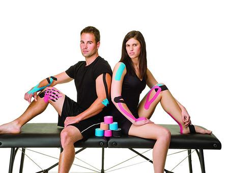 ¿No estas seguro de cómo usar la cinta Kinesiologica? Aquí hay algunos consejos para la rodilla.