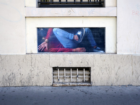 """""""Compressions""""... le nouveau projet street art de Milo Project"""