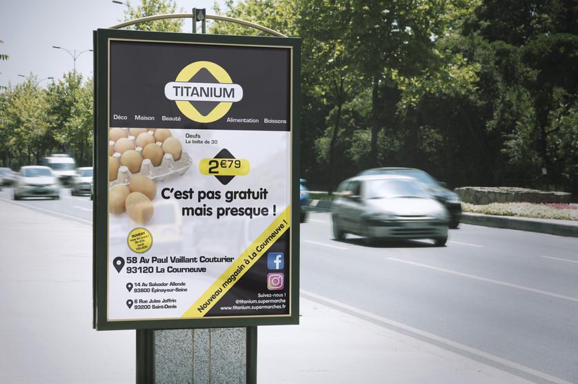 Publicité [Titanium Supermarchés]