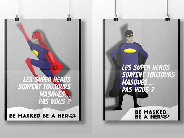 Affiche [Be masked be a hero]