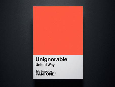 Pantone crée Unignorable, la couleur qui marque les esprits