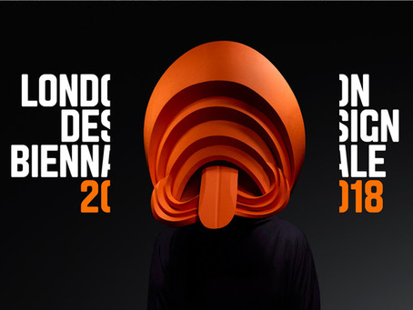 Une identité visuelle basée sur des masques en papier pour la Biennale de Design de Londres 2018