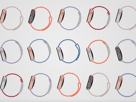 L'histoire des produits Apple dans un motion design aux enchaînements inspirants