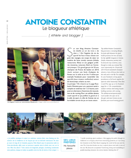 Antoine constantin, procoach antoine, monsieur lifestyle, cannes is yours, cannes, sport , fitness, coaching, blog