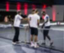 BNPPM à l'accorhotels arena avec le coq sportif