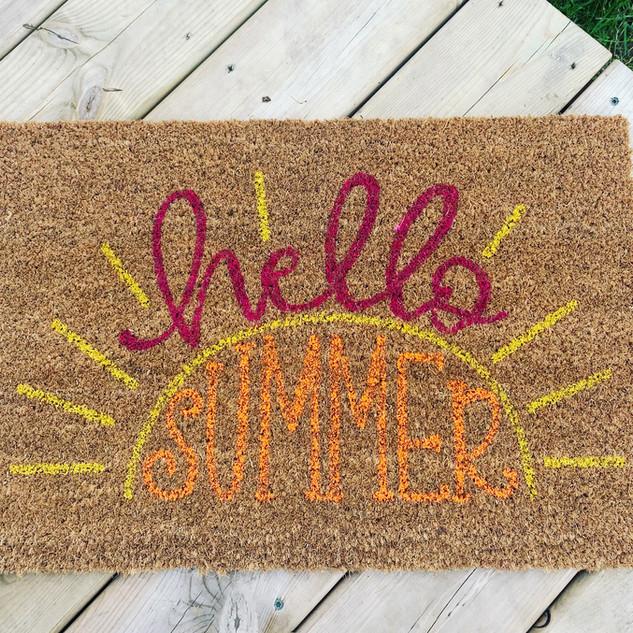 Summer Doormat