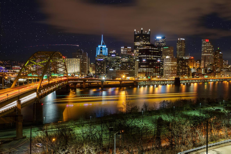 Pittsburgh Long Exposure
