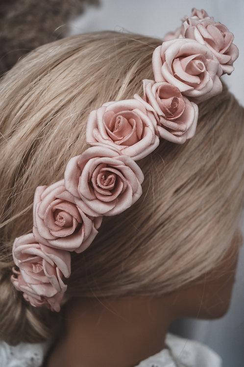 Piankowe róże
