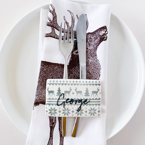 Personalised Place settings (set of 4)