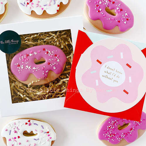 'I donut know what I'd do without you' box