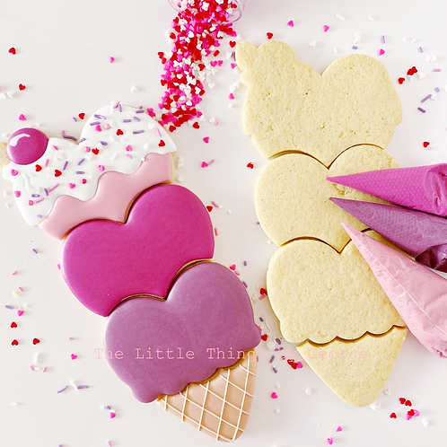 Valentines Ice-cream DIY kit