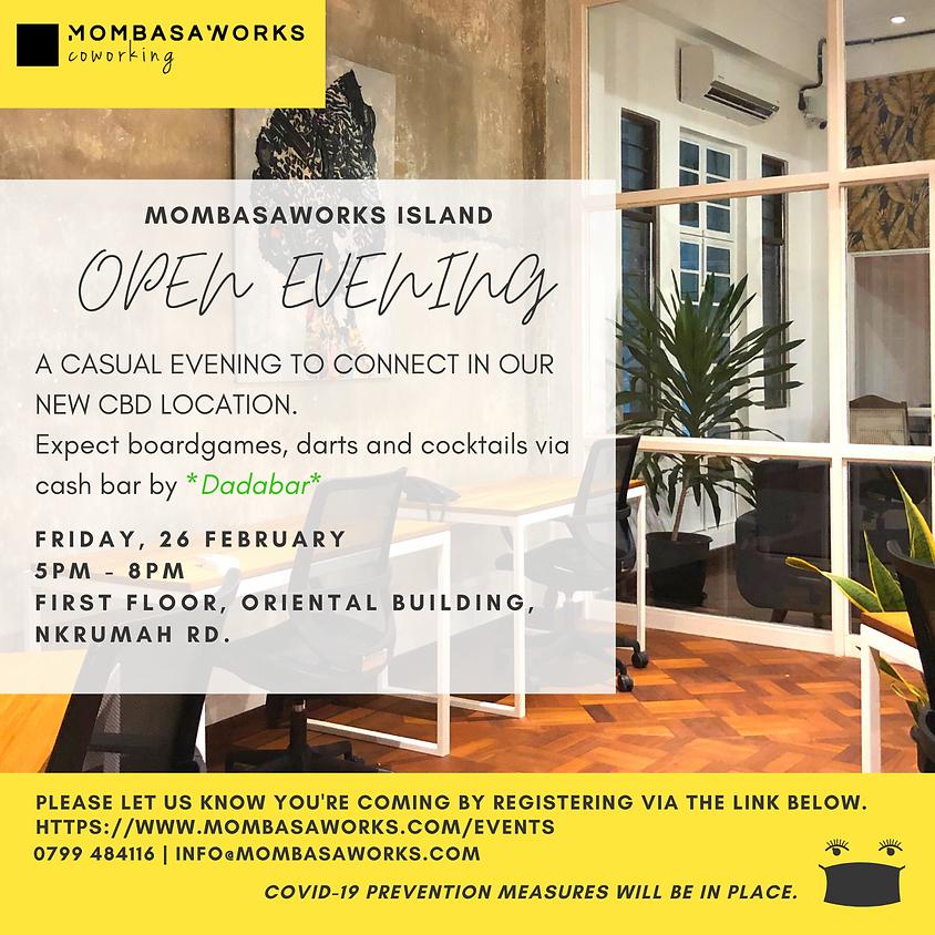 MombasaWorks Island Open Evening