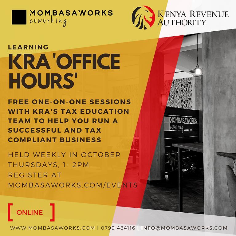 KRA Office Hours