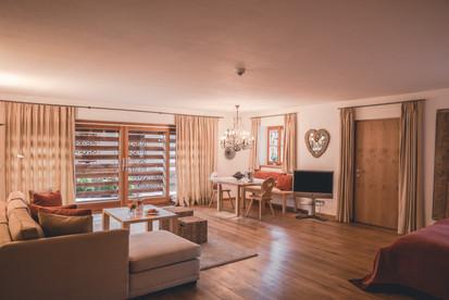 Wohnbereich Premium Doppelzimmer