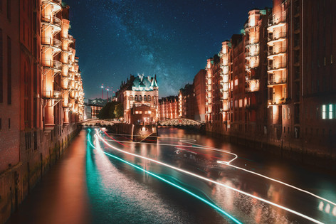 Midnight in Hamburg