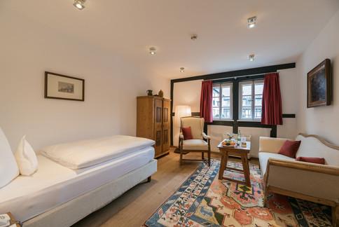 Einzelzimmer im Romantik Hotel Neumühle