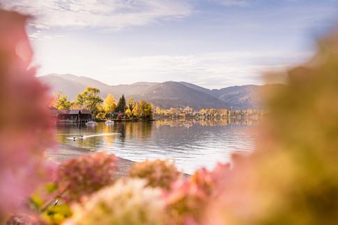 Herbst über Bad Wiessee