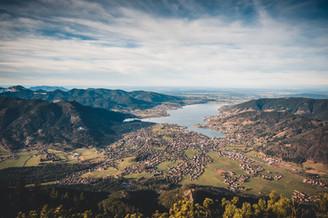Auf dem Wallberg am Tegernsee